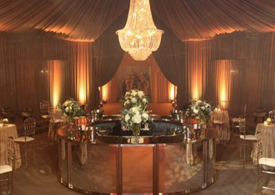 marquee draping