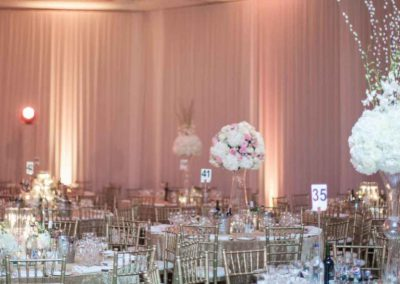 wall drapes hire