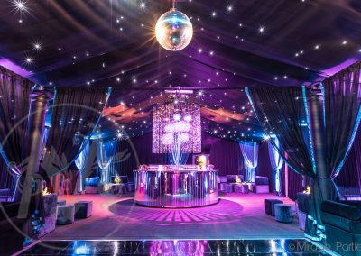 private marquee parties