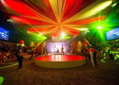 circus stage set