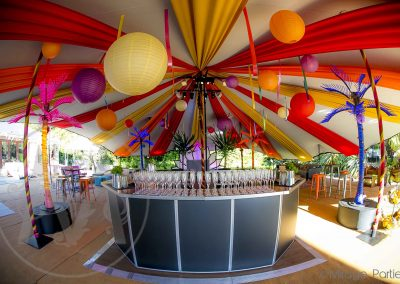 king pole marquee ideas